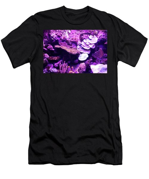 Men's T-Shirt (Athletic Fit) featuring the digital art Coral Art 5 by Francesca Mackenney