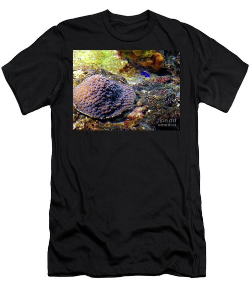 Men's T-Shirt (Athletic Fit) featuring the digital art Coral Art Cu 3 by Francesca Mackenney