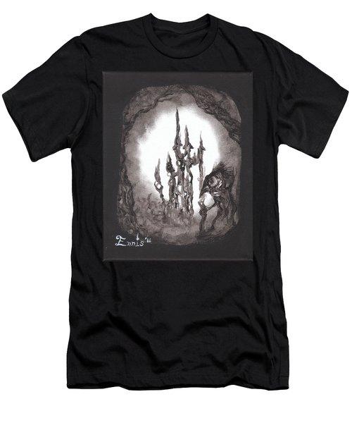Coral Castle Men's T-Shirt (Athletic Fit)