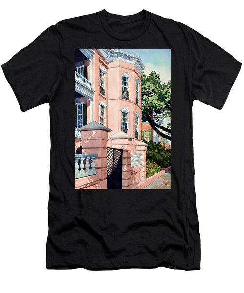 Coral Men's T-Shirt (Athletic Fit)