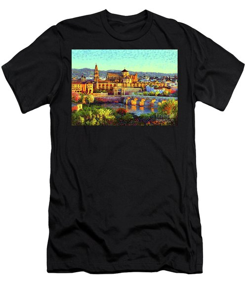 Cordoba Mosque Cathedral Mezquita Men's T-Shirt (Athletic Fit)