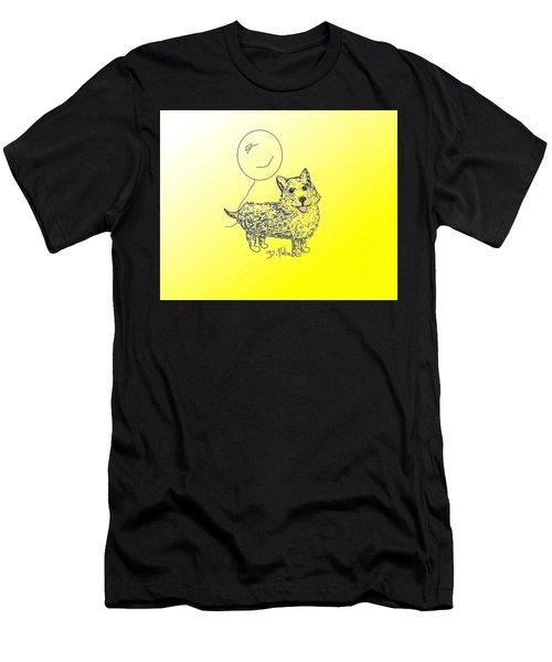 Corgi Men's T-Shirt (Athletic Fit)