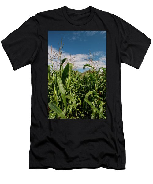 Men's T-Shirt (Slim Fit) featuring the photograph Corn 2287 by Guy Whiteley