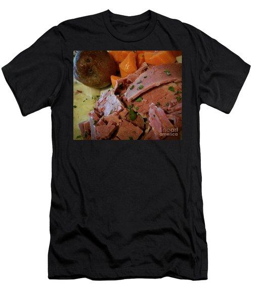 Corn Beef Men's T-Shirt (Athletic Fit)