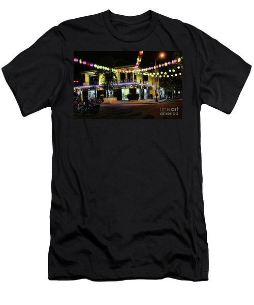 Corner Location Store  Hoi An Night Men's T-Shirt (Athletic Fit)