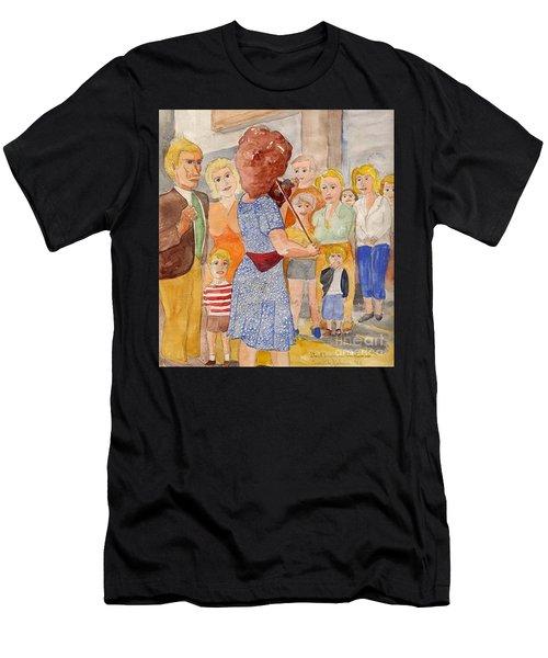 Corner Musician Amsterdam Men's T-Shirt (Athletic Fit)