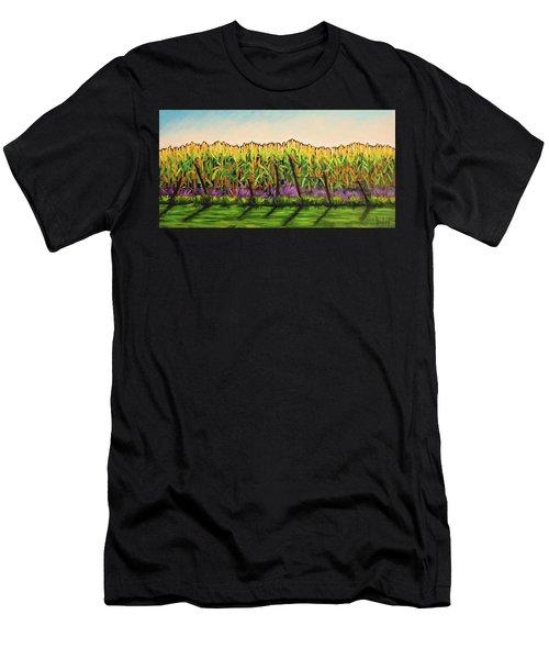 Cornfield Color Men's T-Shirt (Athletic Fit)