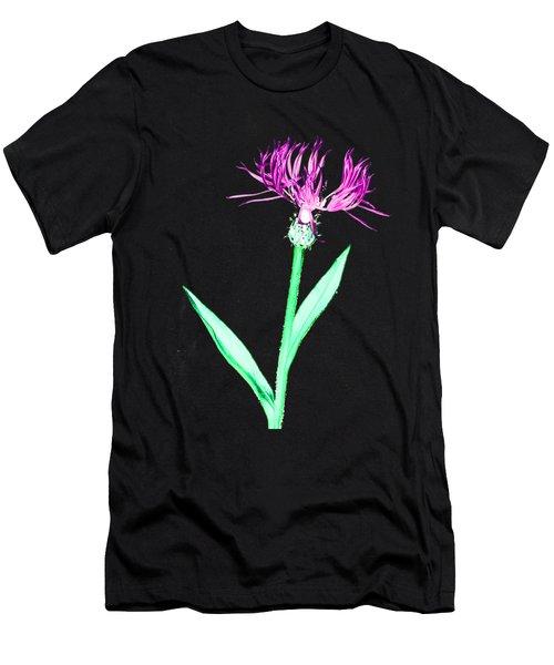 Cornflower3 T-shirt Men's T-Shirt (Athletic Fit)