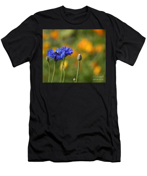 Cornflowers -2- Men's T-Shirt (Athletic Fit)