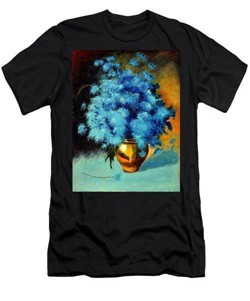 Cornflowers Men's T-Shirt (Athletic Fit)