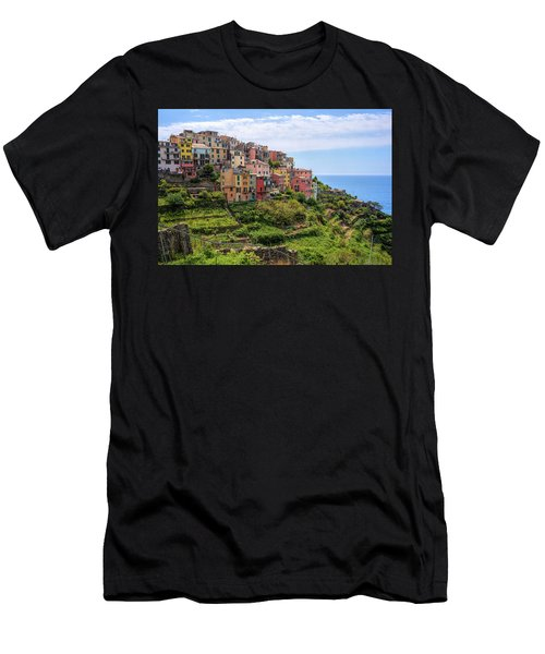 Corniglia Cinque Terre Italy Men's T-Shirt (Athletic Fit)