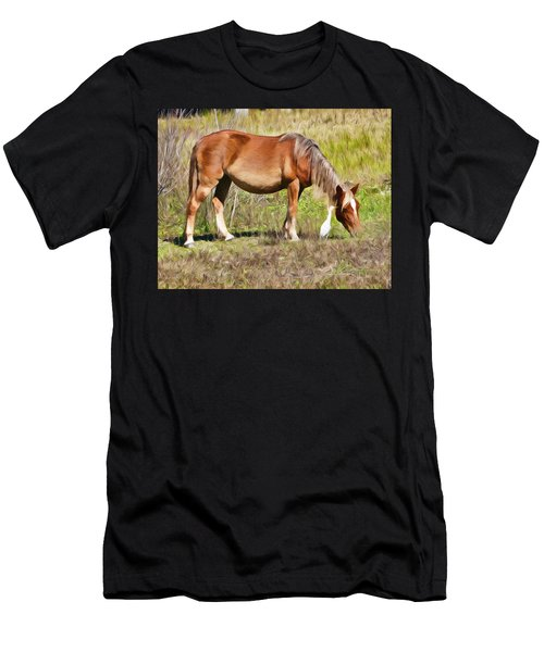 Corolla's Wild Horses Men's T-Shirt (Athletic Fit)