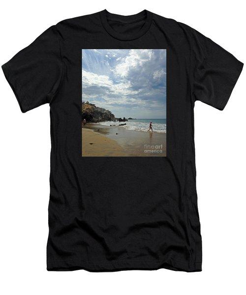 Corona Del Mar 3 Men's T-Shirt (Athletic Fit)