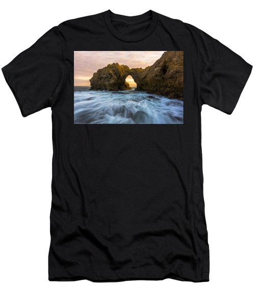 Men's T-Shirt (Athletic Fit) featuring the photograph Corona Del Mar by Dustin  LeFevre