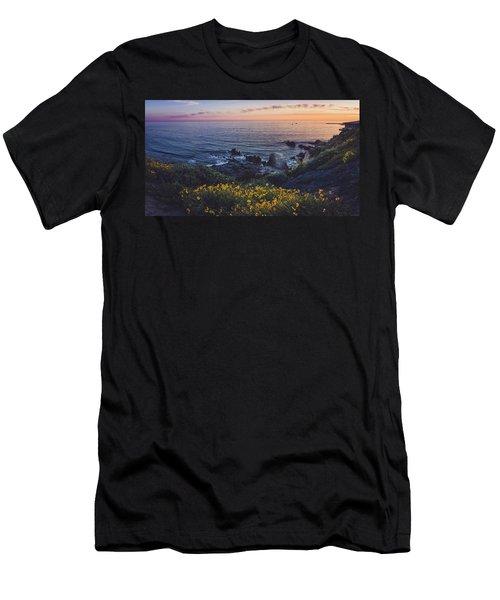 Corona Del Mar Super Bloom Men's T-Shirt (Athletic Fit)