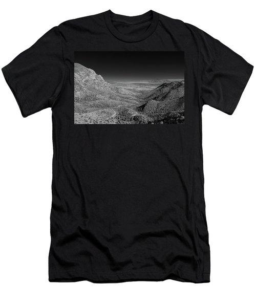 Coronado National Memorial In Infrared Men's T-Shirt (Athletic Fit)