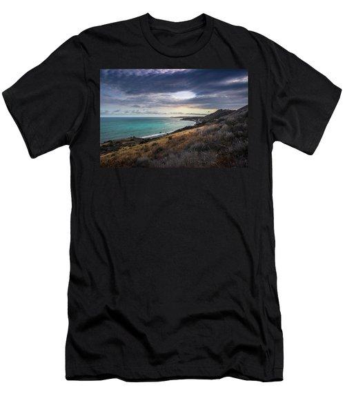 Corral Canyon Malibu Trail Men's T-Shirt (Athletic Fit)