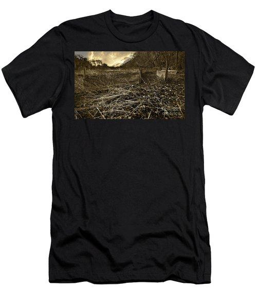 Corrugated Tin Pen Men's T-Shirt (Athletic Fit)