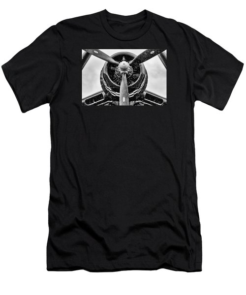 Corsair In Heavy Rain Men's T-Shirt (Athletic Fit)