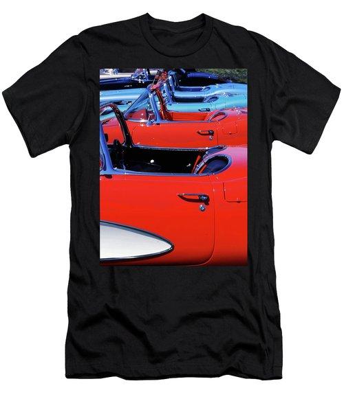 Corvette Row Men's T-Shirt (Athletic Fit)