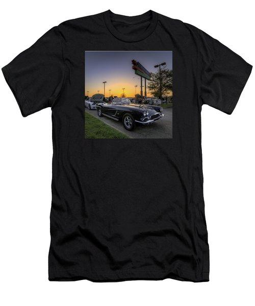 Corvette Sunset Men's T-Shirt (Athletic Fit)