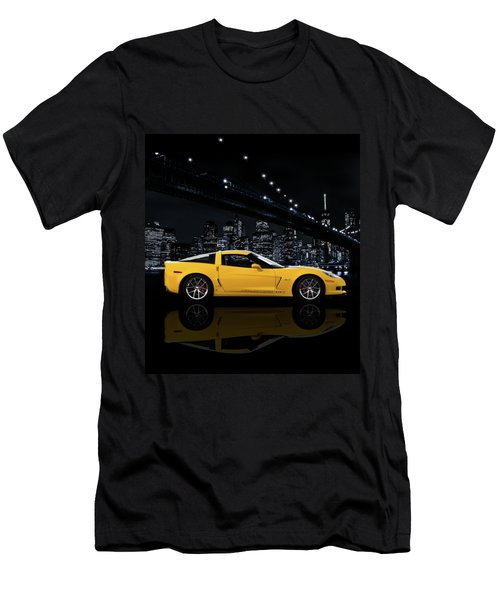 Corvette Z06 Gt1 Men's T-Shirt (Athletic Fit)