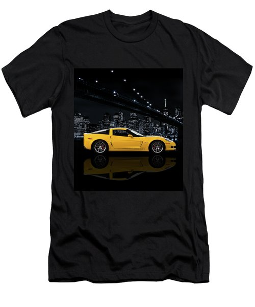 Corvette Z06 Gt1 Men's T-Shirt (Athletic Fit)