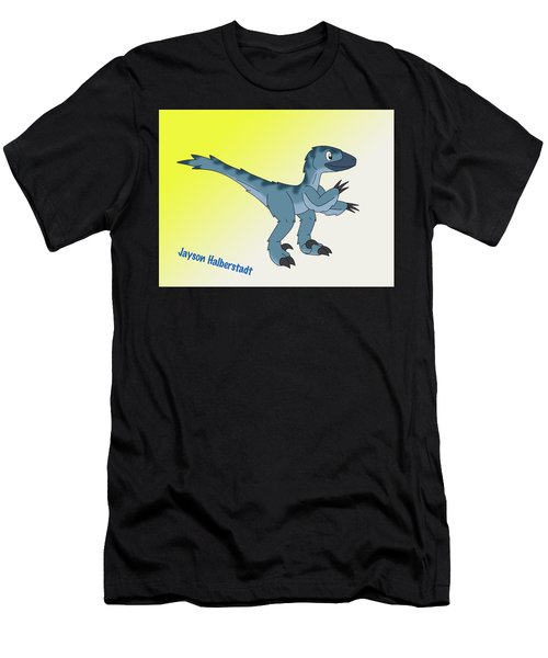 Cory The Raptor Men's T-Shirt (Athletic Fit)
