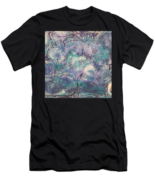 Cosmic Abstract Men's T-Shirt (Athletic Fit)