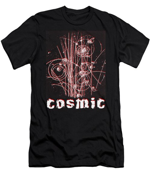 Cosmic Bubbles Men's T-Shirt (Athletic Fit)