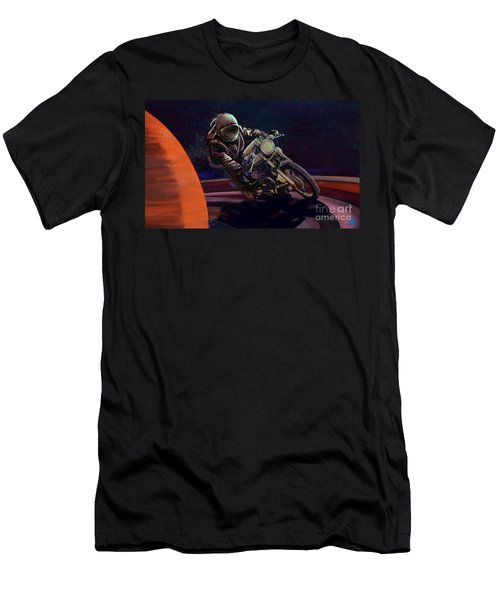Cosmic Cafe Racer Men's T-Shirt (Athletic Fit)