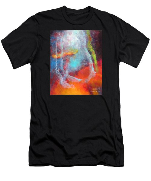 Fantasies In Space Series Painting. Cosmic Concerto Men's T-Shirt (Athletic Fit)