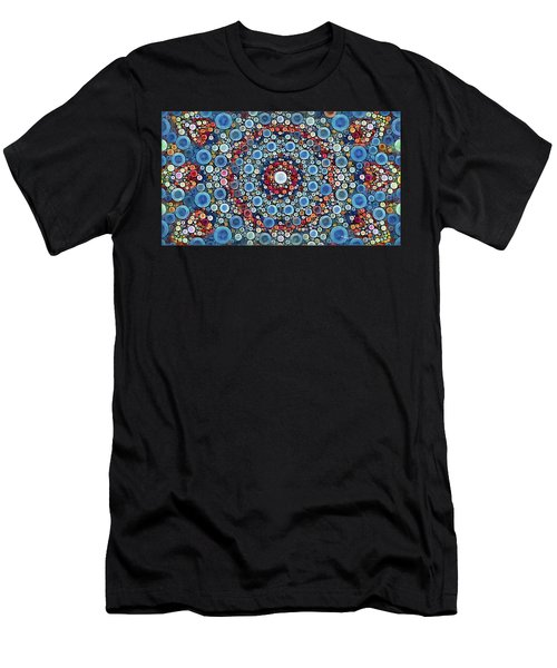 Cosmic Drift Men's T-Shirt (Athletic Fit)