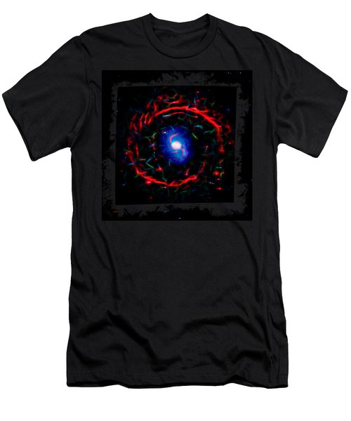 Cosmic Eye 3 Men's T-Shirt (Athletic Fit)