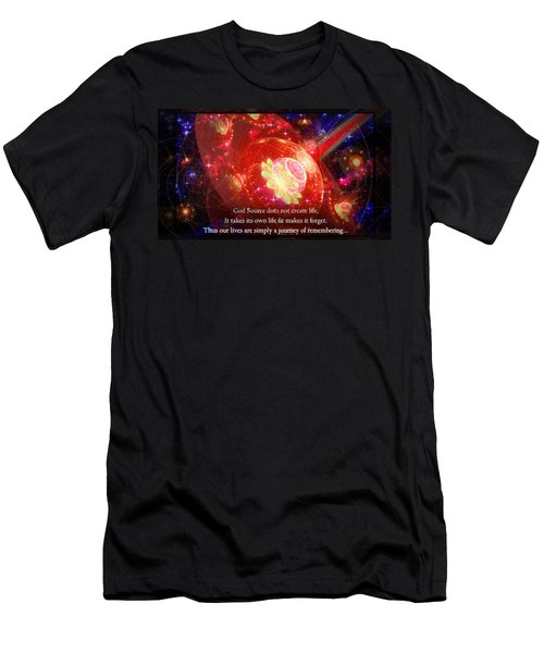 Cosmic Inspiration God Source 2 Men's T-Shirt (Athletic Fit)