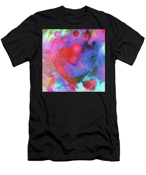 Cosmic Love Men's T-Shirt (Athletic Fit)