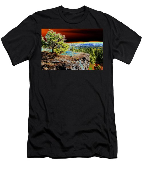 Cosmic Spokane Rimrock Men's T-Shirt (Athletic Fit)