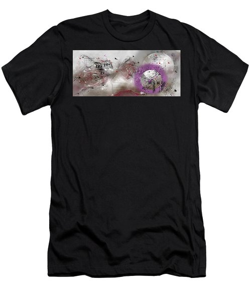Cosmic Symphony Men's T-Shirt (Athletic Fit)
