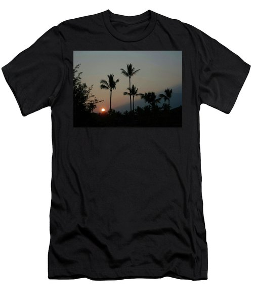 Costa Rican Mountain Sunset Men's T-Shirt (Athletic Fit)