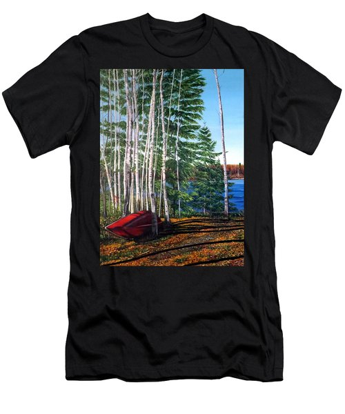 Cottage Country Men's T-Shirt (Athletic Fit)