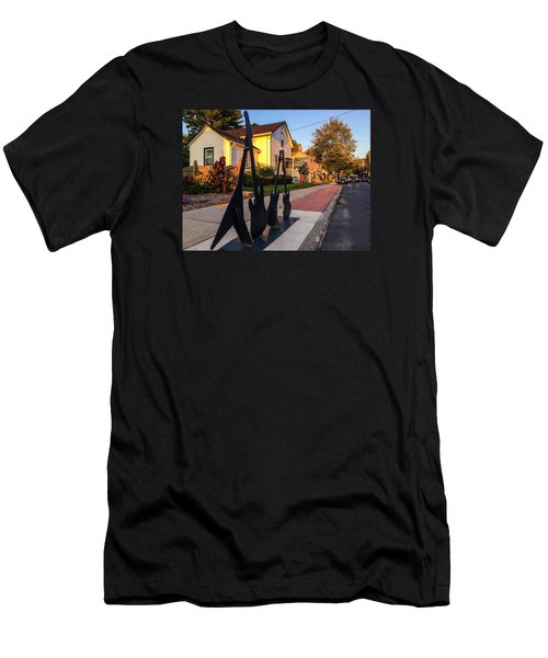 Cottage Street Guitars Men's T-Shirt (Athletic Fit)