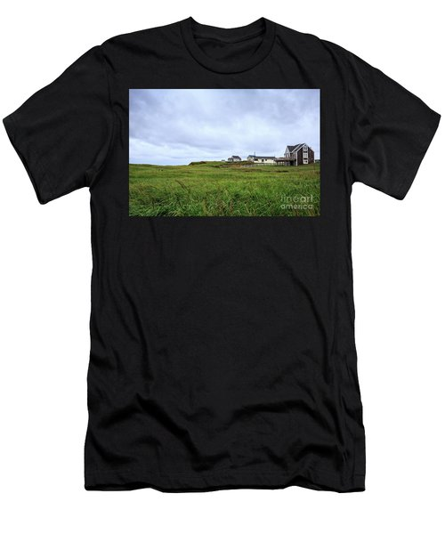 Cottages In The Dunes Prince Edward Island Men's T-Shirt (Athletic Fit)