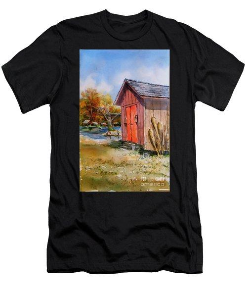 Cotter Shed Men's T-Shirt (Athletic Fit)