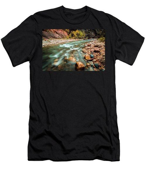 Cotton Colors Men's T-Shirt (Athletic Fit)
