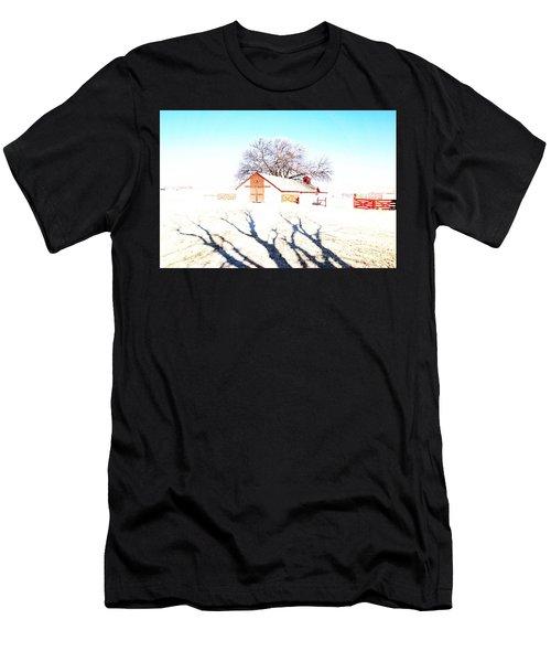Cottonwood Ranch, Kansas Men's T-Shirt (Athletic Fit)