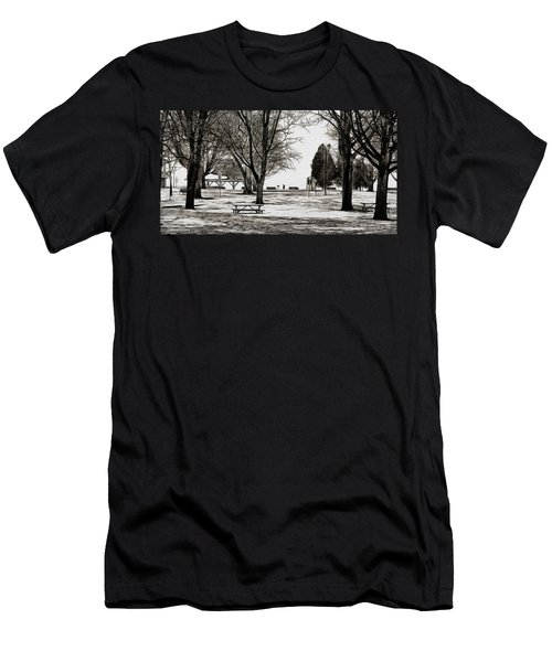Couchiching Park In Pencil Men's T-Shirt (Athletic Fit)