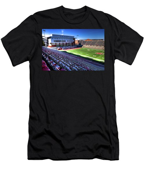 Cougar Football Complex At Martin Stadium Men's T-Shirt (Athletic Fit)
