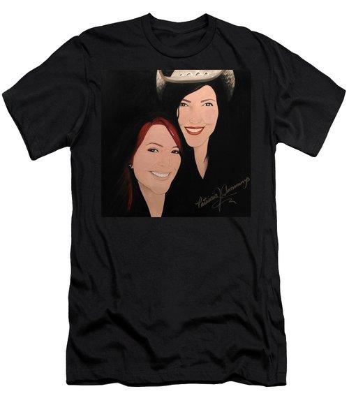 Cougrzz Rock Duo Men's T-Shirt (Athletic Fit)