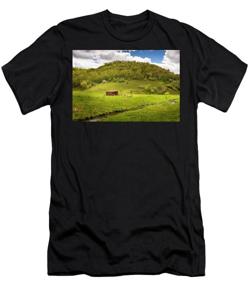 Coulee Morning Men's T-Shirt (Athletic Fit)