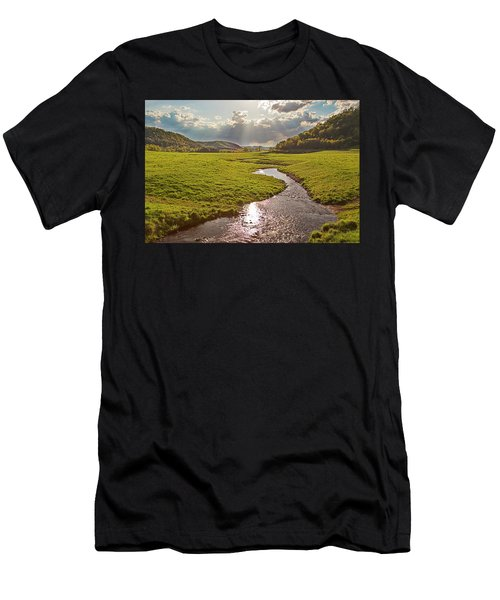 Coulee View Men's T-Shirt (Athletic Fit)